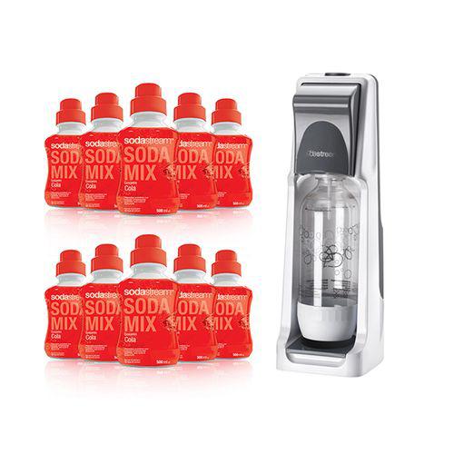 Machine à Soda : Sodastream Cool Titan  + 10 sirops cola