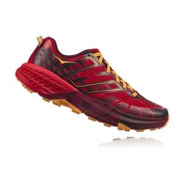Chaussures Hoka One One SpeedGoat 2 - rouge (du 41 1/3 au 48)