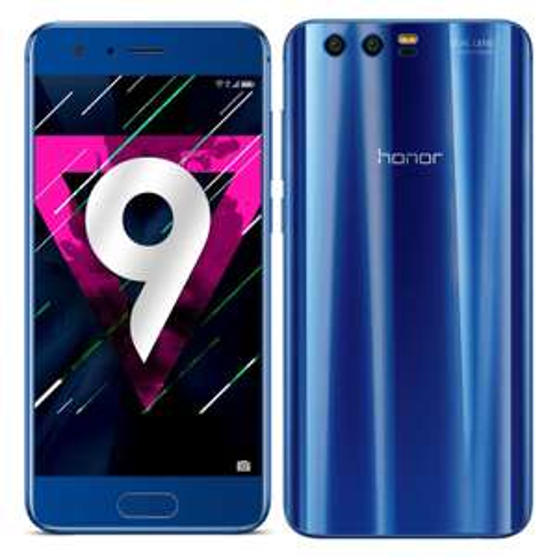 "Smartphone 5.15"" Honor 9 - Kirin 960, RAM 4Go, 64 Go - Bleu saphir"