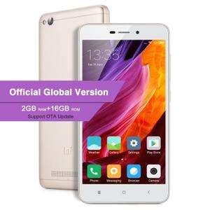 "Smartphone 5"" Xiaomi Redmi 4A Or (Version Globale) - 4G (B20), HD, Snapdragon 425, RAM 2Go, ROM 16Go (Vendeur tiers)"