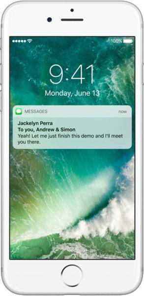 """Smartphone 5.5"""" Apple iPhone 7 Plus (A10, 3 Go de RAM, 128 Go) - reconditionné (+ 127.5€ en SuperPoints)"""