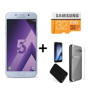 smartphone 5 2 samsung galaxy a5 2017 carte micro sd samsung evo 32 go batterie externe. Black Bedroom Furniture Sets. Home Design Ideas