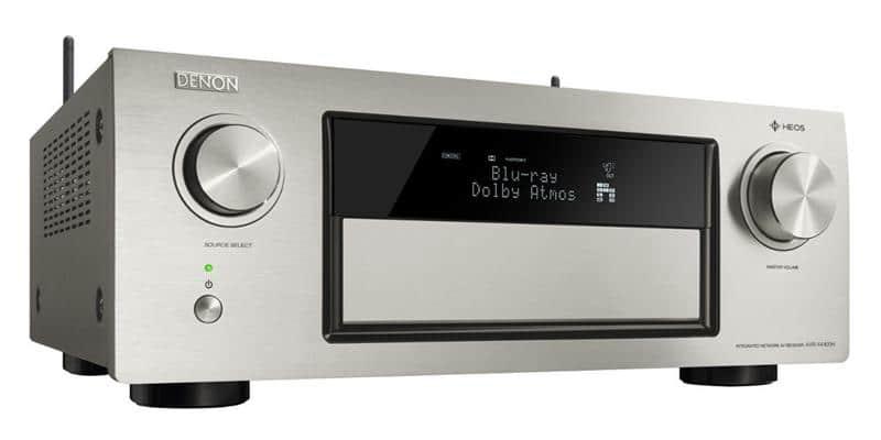 Amplificateur Home Cinéma 9.2 Denon AVR-X4400H - Dolby Atmos et DTS:X, Multiroom Heos, HDR - HDCP 2.2, 3D Ready