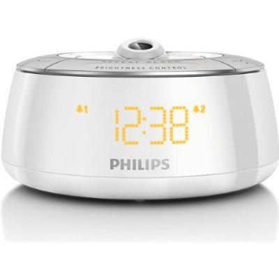 Radio-réveil Philips AJ5030/12 avec projecteur à 180°