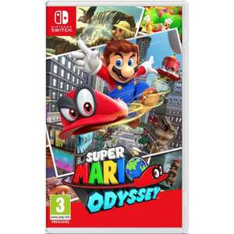 Jeu Super Mario Odyssey sur Switch (via 15€ sur la carte)