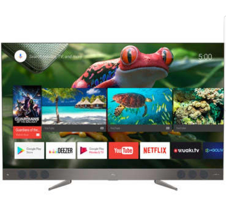 """TV QLED 65"""" TCL U65X9006 - Ultra HD, Android TV, Barre de son JBL"""