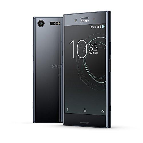 "Smartphone 5,5"" Sony Xperia XZ Premium Noir - 4K HDR, RAM 4Go, 64Go"