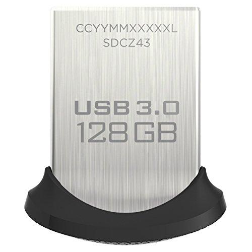 Sélection de produits Sandisk en promotion - Ex: Clé USB 3.0 Sandisk Ultra Fit (jusqu'à 150 Mo/s) - 128 Go