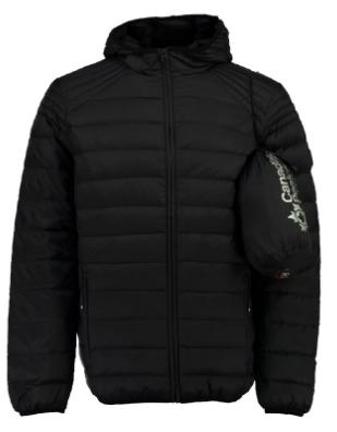 Doudoune Canadian Peak Chamallow Noir - Tailles : S, L ou XL