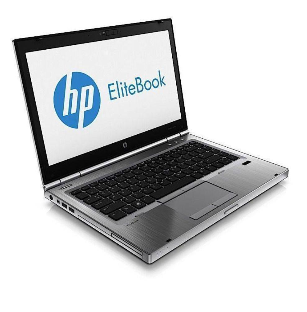 """PC Portable 12.5"""" HP EliteBook 2570P - Intel i5 2,6GHz - SSD 128Go - RAM 4Go (Reconditionné - Argent)"""