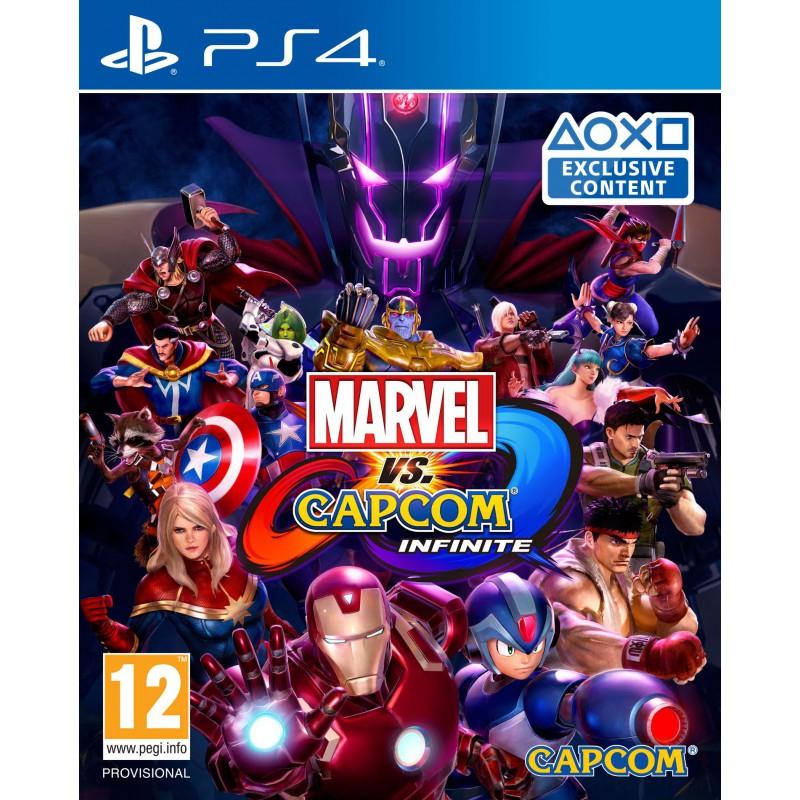 Marvel VS Capcom Infinite sur PS4 et Xbox One