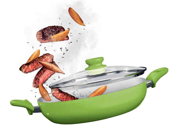 Sauteuse avec revêtement en céramique (2 coloris au choix)