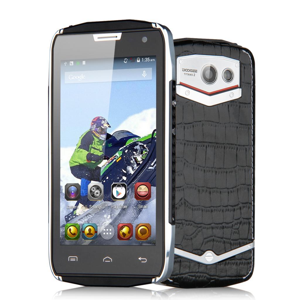 """Smartphone 4.5""""  Doogee DG700 Titans 2 - Quadcore, RAM 1Go, Android 5.0"""