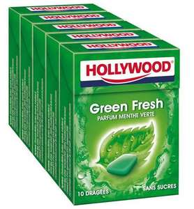 10 Paquets de Chewing-gums Hollywood Fresh