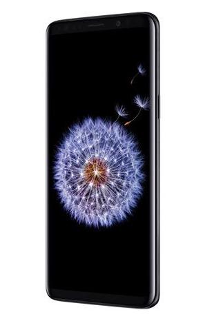 "Smartphone 5.8"" Samsung Galaxy S9 - 64Go, Noir minuit (+ 119,20€ en SuperPoints)"
