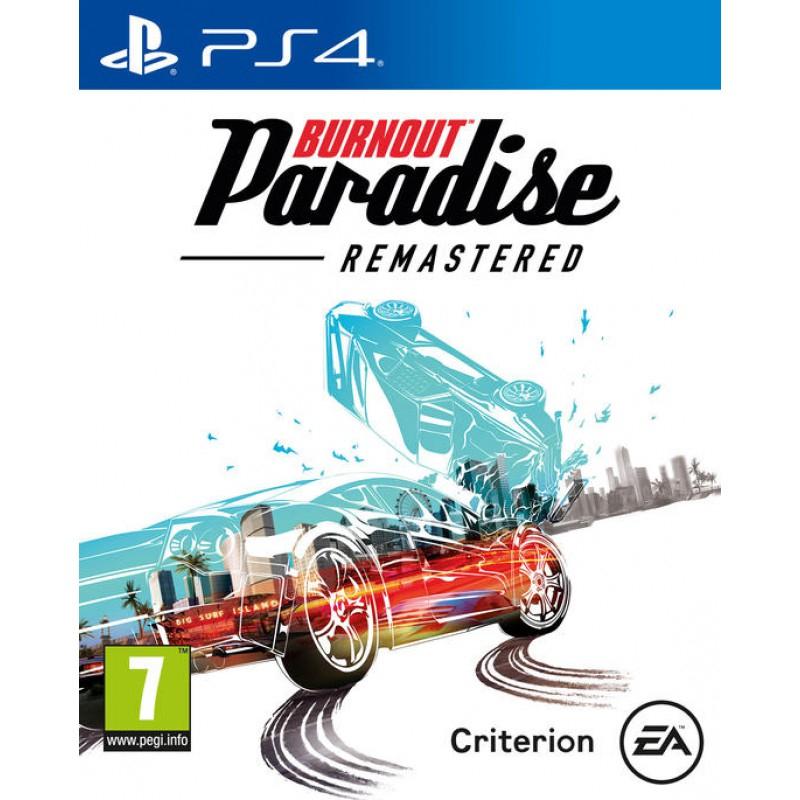 Burnout Paradise: Remastered sur PS4