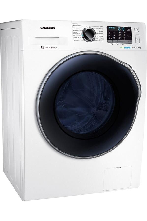 Lave linge séchant Samsung WD70J5A10AWEF - 7 kg - 1400 tours/min