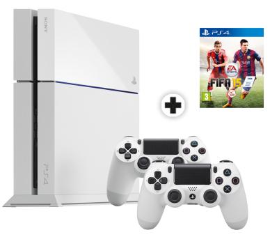 Sony PlayStation 4 500Go + 2 manettes + Fifa 15 en magasin