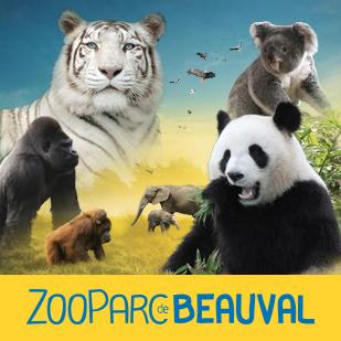 Billet 2 Jours au Zoo - Enfant à 25€ et Adulte à 31€ -  beauval (41)