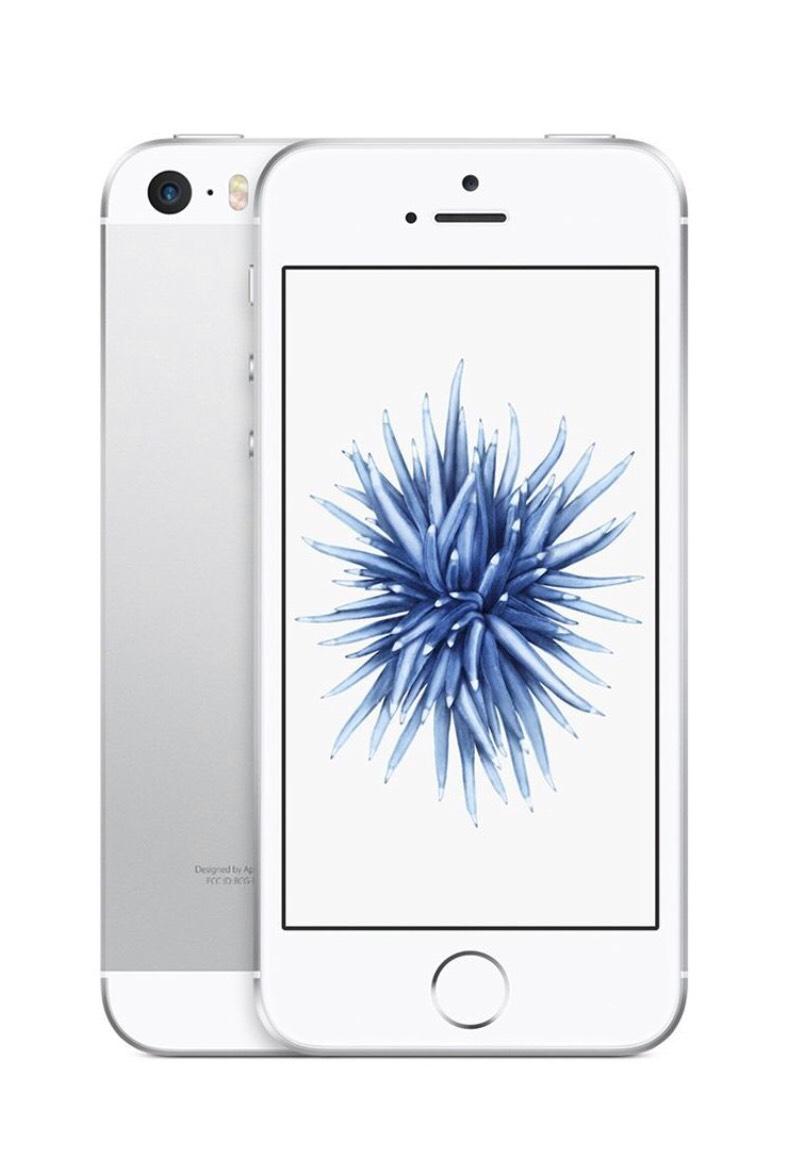 """Smartphone 4"""" Apple iPhone SE - 16 Go ARGENT, Touch ID - Reconditionné (+ jusqu'à 60,40€ de SuperPoints - via l'Application)"""