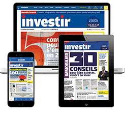 1 mois d'abonnement privilège Investir sans engagement (site + 5 numéros) Gratuit