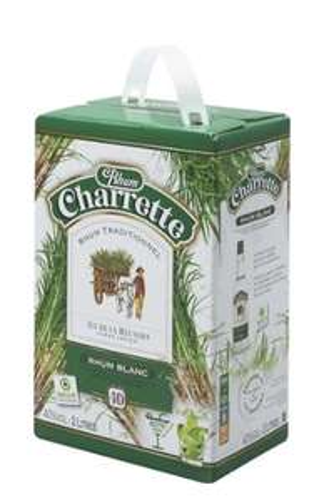 1 cubi de Rhum Charrette 2L (40')
