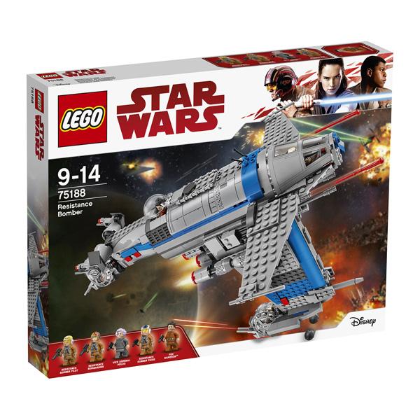 Lego Star Wars 8 Resistance Bomber (75188)