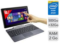 Ultrabook hybride tactile 10,1'' Asus Transformer Book T100TA-DK005H (Dépackagé - Garantie 6 mois)
