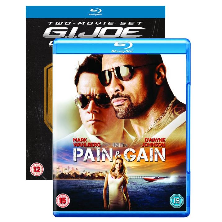 1 Blu-ray acheté = 1 offert parmi une sélection - Ex: Blu-ray No Pain No Gain + Coffret Blu-ray G.I. Joe - Le réveil du cobra + G.I. Joe Conspiration
