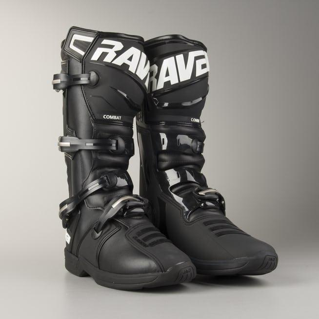 Bottes Moto Cross Raven Combat - Coloris et Tailles au choix