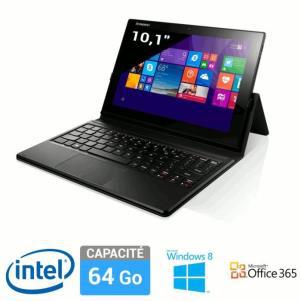 """Tablette 10.1"""" Lenovo Idea Miix 3 64Go + Clavier + Office 365 Personnel + 28€ en bons d'achats (avec 50€ ODR)"""