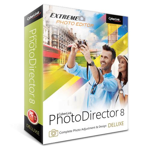 Logiciel Cyberlink Photodirector 8 Deluxe gratuit (Dématérialisé)