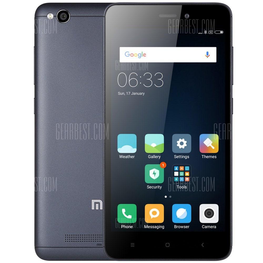 "Smartphone 5"" Xiaomi Redmi 4A (Global) Gris - 4G (B20), HD, Snapdragon 425, RAM 2 Go, ROM 16 Go (Entrepôt EU - Vendeur tiers)"