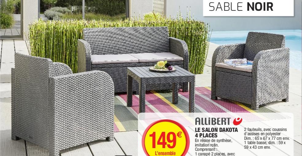 Beautiful Salon De Jardin Bas Allibert Galerie - Idées décoration ...