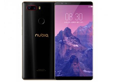 """Smartphone 5.73"""" ZTE Nubia Z17S - Full HD+, Snapdragon 835, 6 Go RAM, 64 Go ROM, 4G (avec B20) - Noir"""