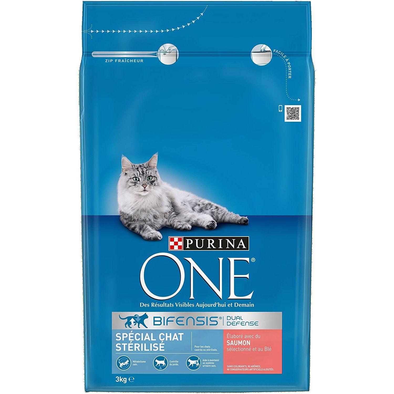 Lot de 3 Packs de Croquettes pour chats Purina One - 3x3kg (Aubière 63)