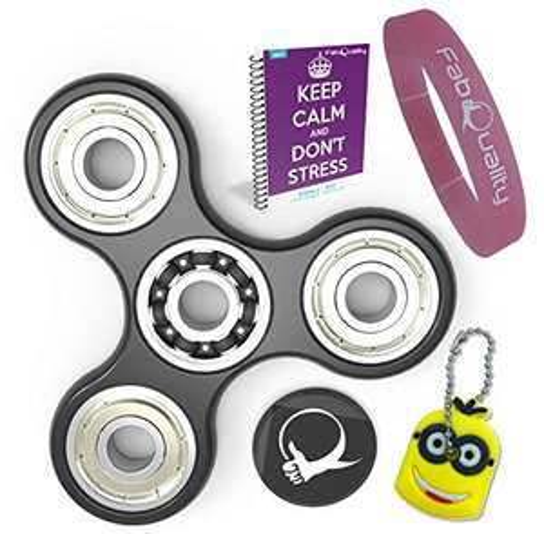 [Panier Plus] Lot Hand Spinner + Porte clé minions + Bracelet + eBook (vendeur tiers)