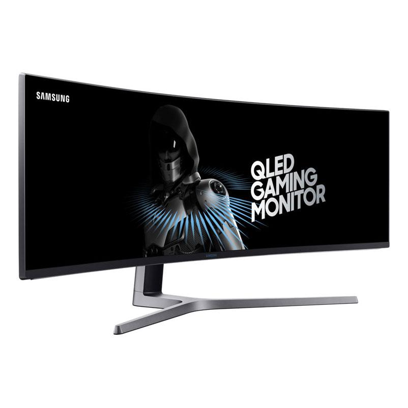 "Ecran PC 49"" Samsung LC49HG90DMUXEN - QLED, 32:9 (3840 x 1080), Dalle VA, FreeSync, 144 Hz, 1 ms (via ODR de 229.48€)"