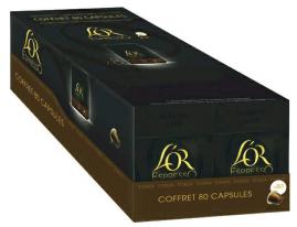 Lot de 8 paquets de 10 capsules L'Or Expresso