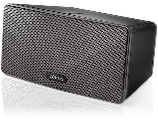 Enceinte sans fil multiroom Sonos Play:3 - Blanc ou Noir