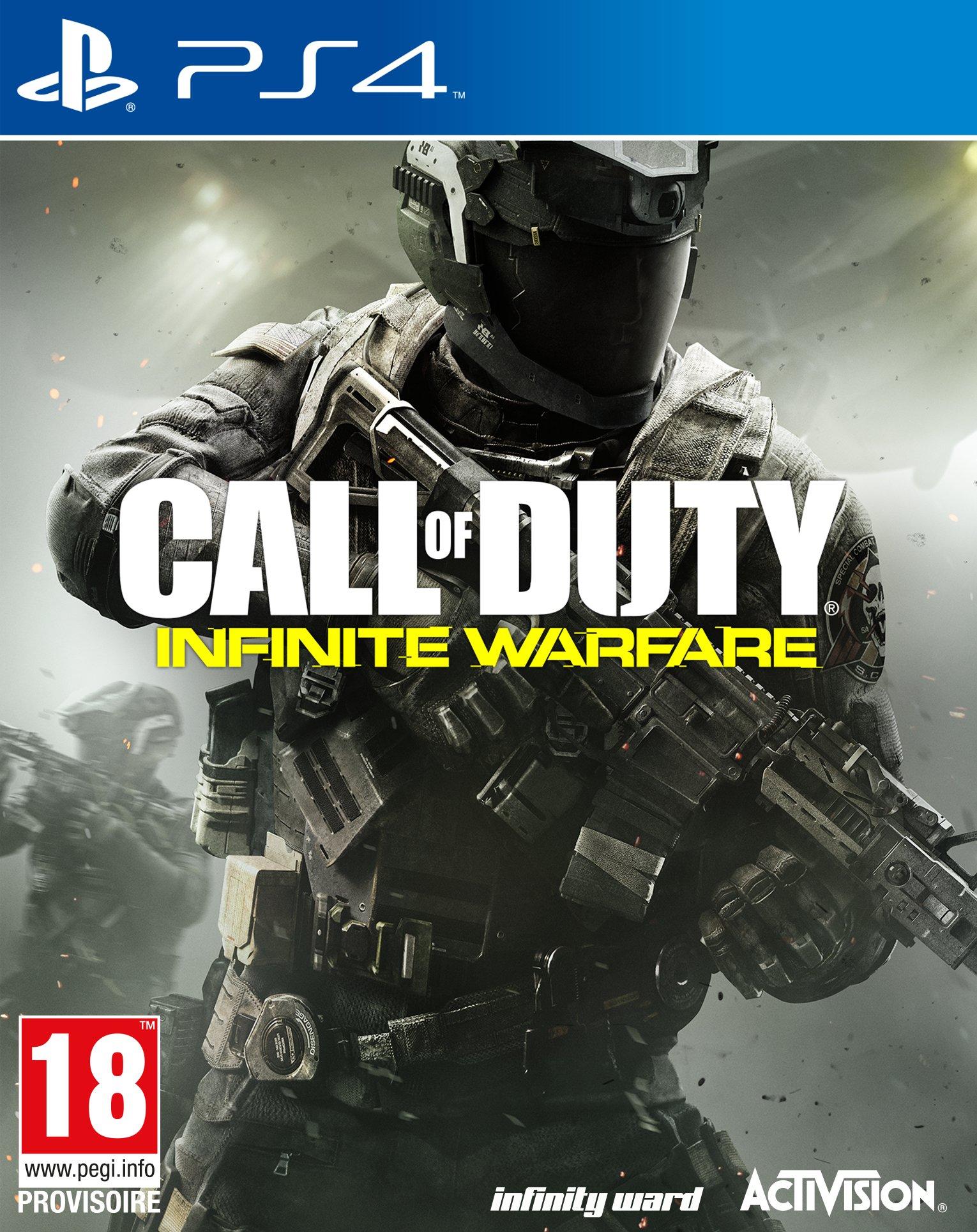 Call Of Duty : Infinite Warfare sur PS4 ou Xbox One (Via 8€ sur la Carte de Fidélité)
