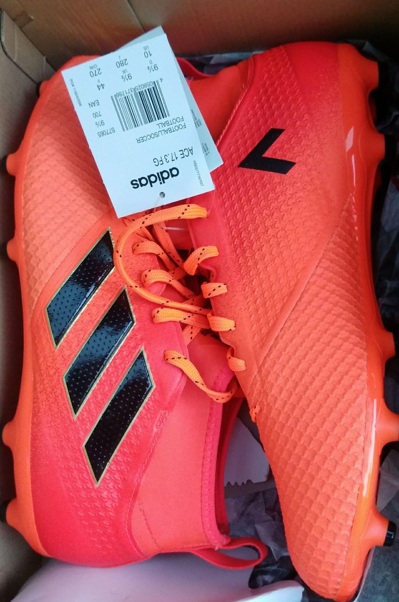 Crampons Adidas ACE 17.3 Solar-Orange - Claye Souilly (77)