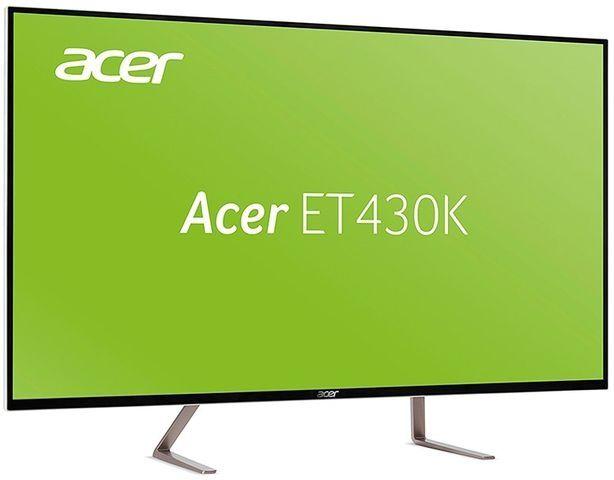 """Ecran PC 43"""" Acer ET430K (ET430KWMIIPPX) - UHD/4K, IPS, 60 Hz (Frontaliers Suisses)"""