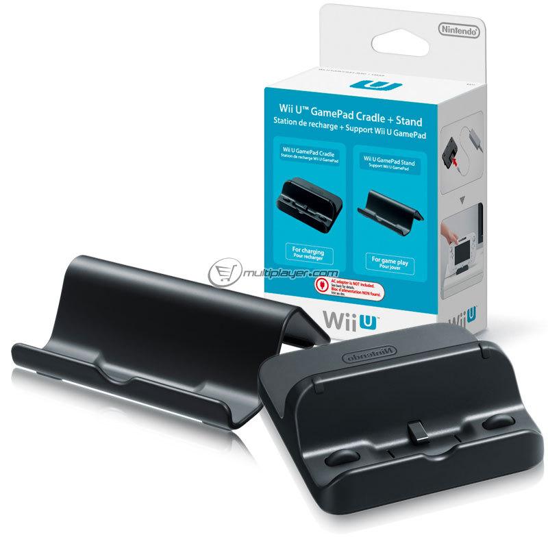 Station de recharge + Support Wii U Gamepad