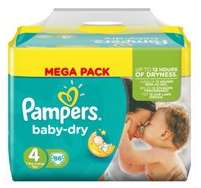 Mega Pack de couches Pampers Active-Fit (15.45€ sur la carte + 2€ C-Wallet)