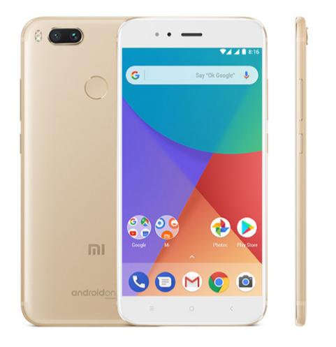 "Smartphone 5.5"" Xiaomi Mi A1 (Or) - 32 Go, Dual Sim, 4G (B20)"