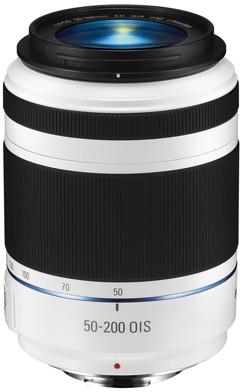 Objectif Samsung 50-200mm II f/4.0-5.6 - Blanc pour Samsung NX