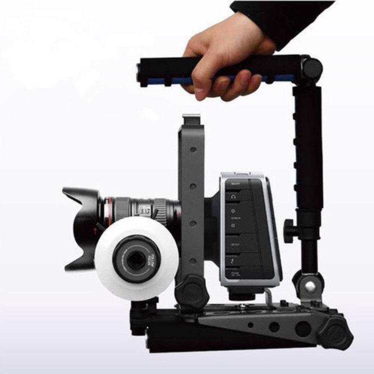 Stabilisateur épaule pour caméra, appareil photo, reflex Eimo Spider Rig DR-2