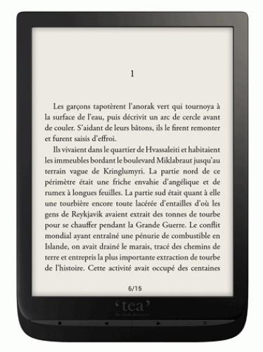 Liseuse Numérique 7,8' Tea Inkpad 3 avec Ecran E-ink Carta - Dual Core, RAM 1Go, 8Go, Port uSD