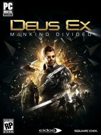 Deus Ex: Mankind Divided sur PC (Dématérialisé - Steam)